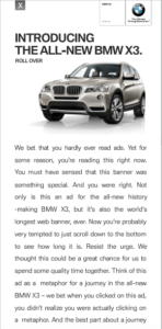 bmw banner inspiration bannerflow examples