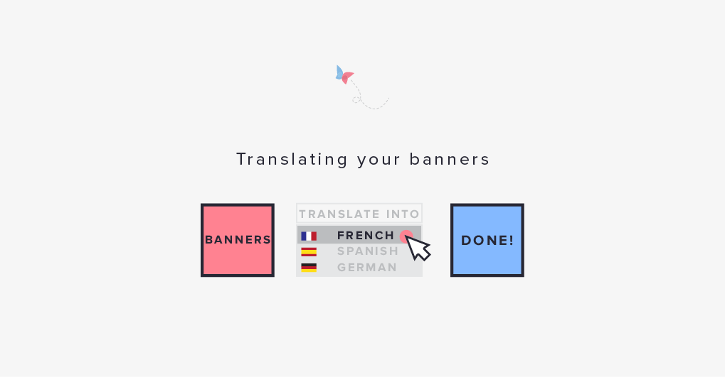 translate banner ads bannerflow html5 languages