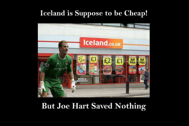 World Cup advertising campaigns Joe Hart
