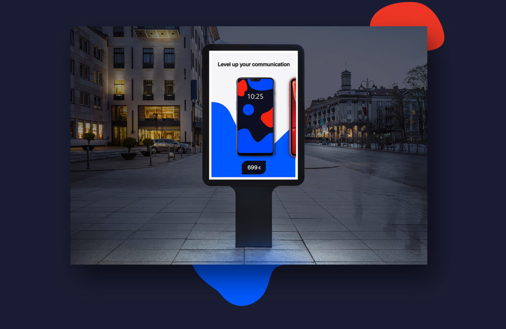 Digital out-of home (DOOH) with Bannerflow