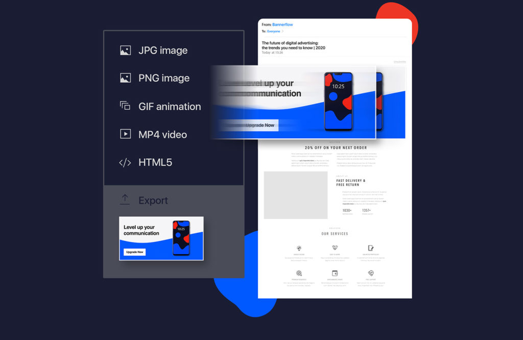 Bannerflow ad formats