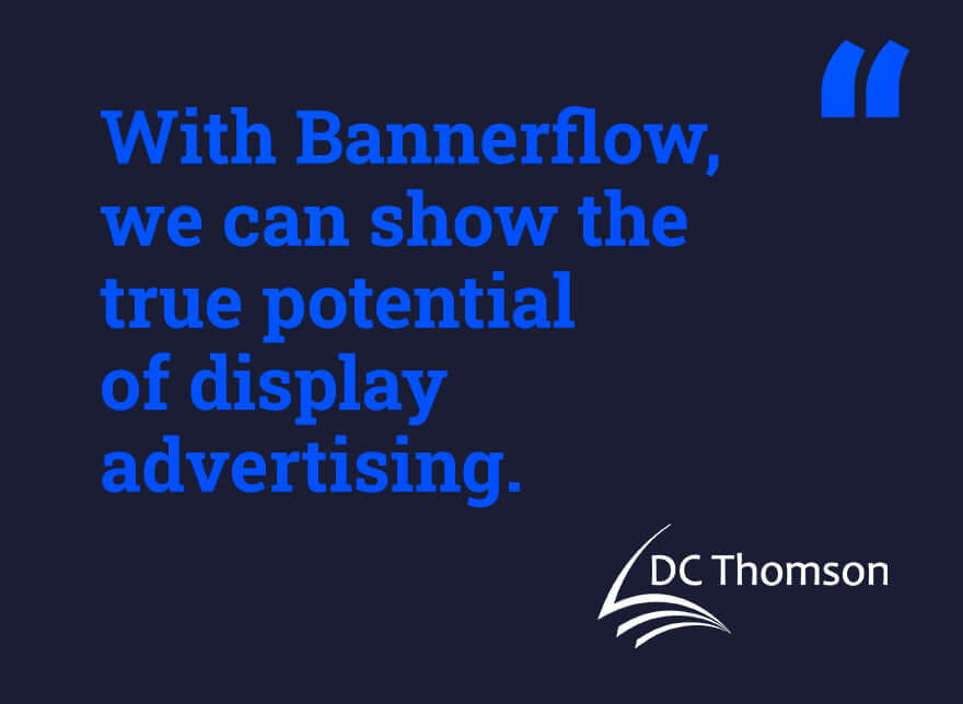How DC Thomson Media achieve creativity in display advertising