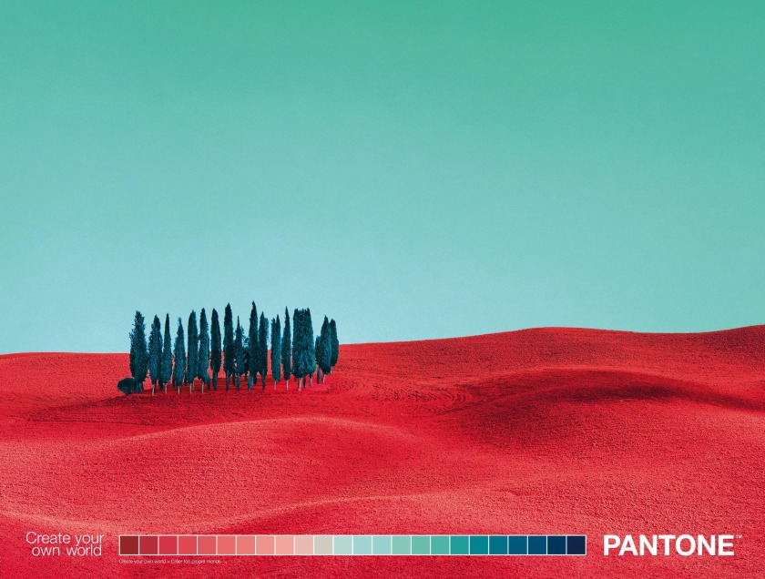Pantone landscape image example – creativity and ROI